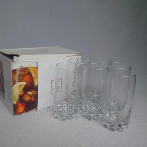6 Pieces Pasabahce Sylvana Drinking Glasses | Kitchen & Dining for sale in Abuja (FCT) State, Kubwa