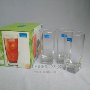 4 Piece Square Tall Drinking Glasses | Kitchen & Dining for sale in Abuja (FCT) State, Kubwa