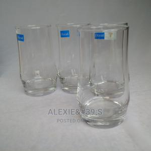 4 Piece Round Tall Drinking Glasses | Kitchen & Dining for sale in Abuja (FCT) State, Kubwa