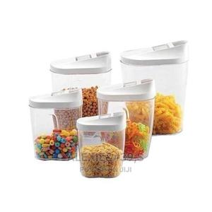 Transparent Plastic Storage Containers With Lid - 10 Pieces   Kitchen & Dining for sale in Abuja (FCT) State, Kubwa