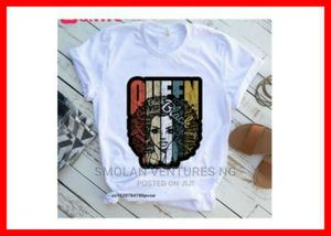 Ladies QUEEN BLACK Short Sleeve T-Shirt   Clothing for sale in Lagos State, Ikeja