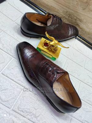 Brown Billionaire Lace-Up Shoes for Men | Shoes for sale in Lagos State, Apapa