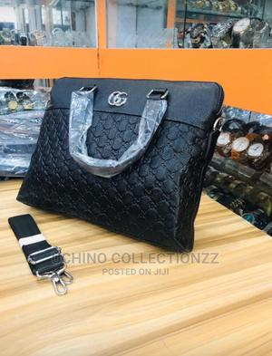 Real Leather Briefcase/Laptop Bag | Bags for sale in Lagos State, Lagos Island (Eko)