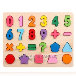 Number and Shape Board | Toys for sale in Lagos State, Alimosho