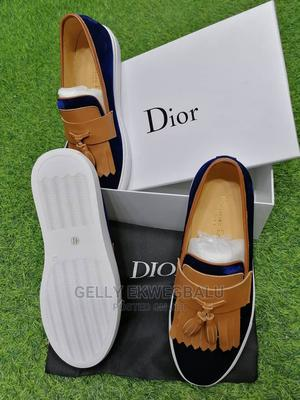 Blue and Brown Dior Casual Shoes | Shoes for sale in Lagos State, Apapa