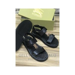 Black Burberry Sandals | Shoes for sale in Lagos State, Apapa