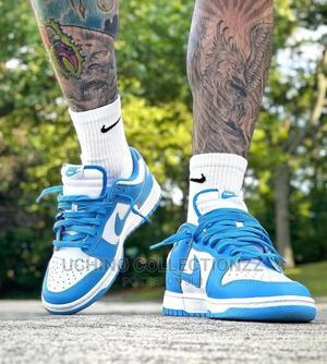 *Nike Dunk Low Sp White/University Blue   Shoes for sale in Lagos State, Lagos Island (Eko)