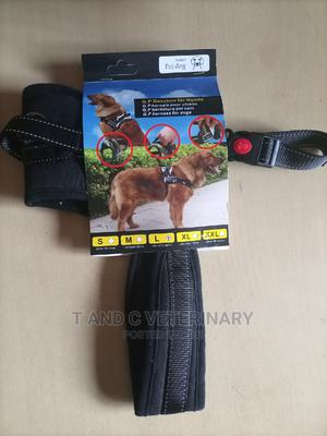 Padded Dog Harness Large   Pet's Accessories for sale in Lagos State, Agege