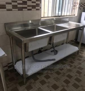 Stainless Steel Sink Double Sided   Restaurant & Catering Equipment for sale in Lagos State, Ojo