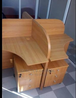 Strong and Comfortable Office Workstation Table   Furniture for sale in Lagos State, Shomolu