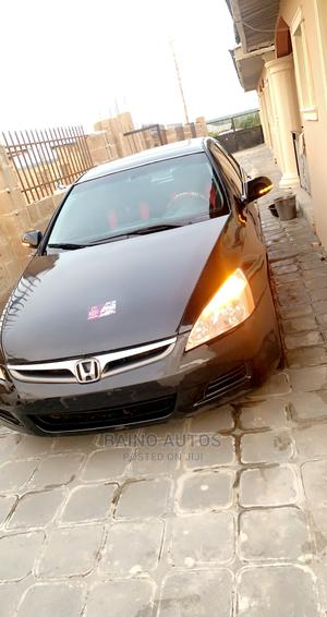 Honda Accord 2007 2.4 Black   Cars for sale in Osun State, Osogbo