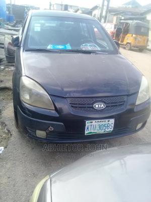 Kia Rio 2008 1.6 Black | Cars for sale in Lagos State, Kosofe