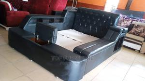 6by6 Executive Leather Bed   Furniture for sale in Lagos State, Ikeja