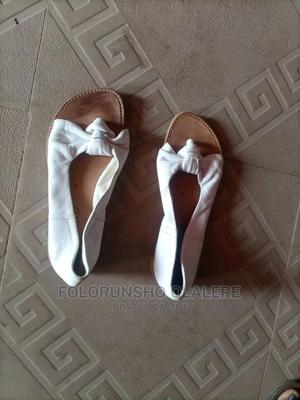 White Leather Sandals Size 34 | Children's Shoes for sale in Oyo State, Ibadan