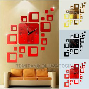 Box Acrylic Wall Clock | Home Accessories for sale in Lagos State, Ipaja