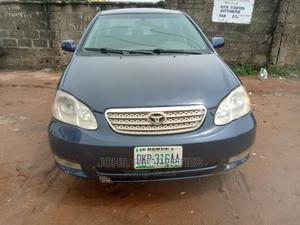 Toyota Corolla 2003 Blue   Cars for sale in Abuja (FCT) State, Asokoro