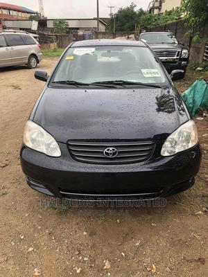 Toyota Corolla 2003 Sedan Automatic Black | Cars for sale in Lagos State, Ikotun/Igando