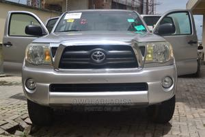 Toyota Tacoma 2008 PreRunner Silver | Cars for sale in Lagos State, Lekki