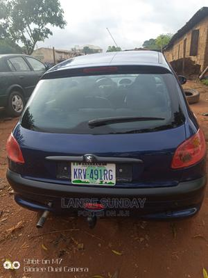 Peugeot 206 2000 CC Automatic Blue | Cars for sale in Nasarawa State, Lafia
