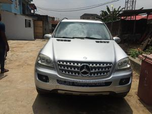 Mercedes-Benz M Class 2008 ML 350 4Matic Silver | Cars for sale in Lagos State, Yaba