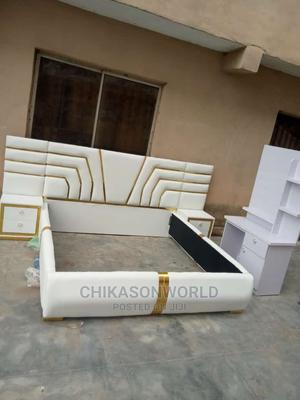 TOP High Quality of King Size Bed Frame 6 by 6 | Furniture for sale in Lagos State, Amuwo-Odofin