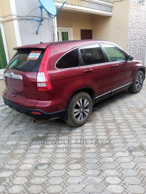 Honda CR-V 2008 2.4 EX 4x4 Automatic Red | Cars for sale in Osun State, Osogbo