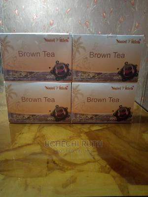 Brown Tea (Blood Cholesterol Reducing Tea) | Vitamins & Supplements for sale in Abuja (FCT) State, Asokoro