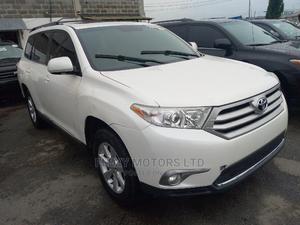 Toyota Highlander 2012 White | Cars for sale in Lagos State, Apapa