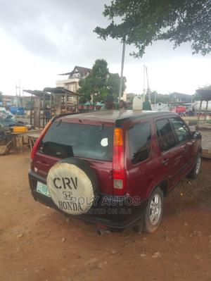 Honda CR-V 2002 2.0i ES Automatic Red | Cars for sale in Lagos State, Alimosho