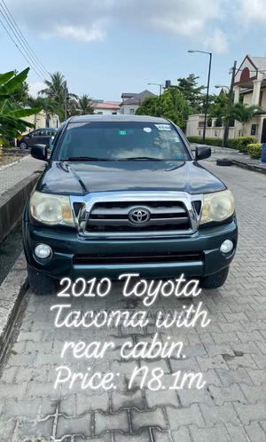 Toyota Tacoma 2010 Double Cab V6 Automatic Gray | Cars for sale in Lagos State, Isolo