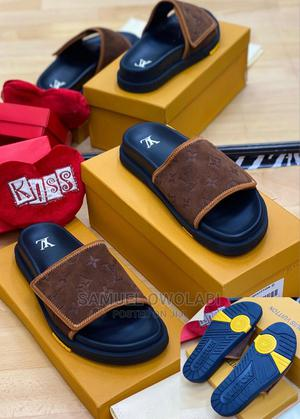 Original Louis Vottion Slides Now Available in Start | Shoes for sale in Lagos State, Lagos Island (Eko)