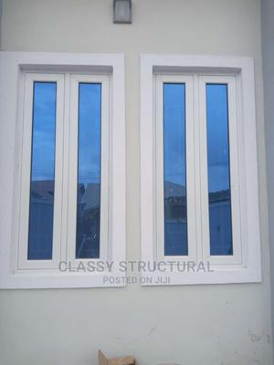 Aluminum Casement Window With Blue Glass   Windows for sale in Lagos State, Agege