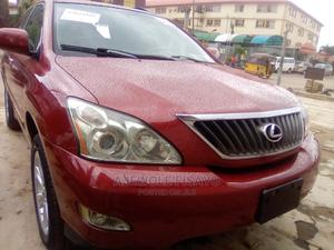 Lexus RX 2009 350 4x4 Red | Cars for sale in Lagos State, Alimosho