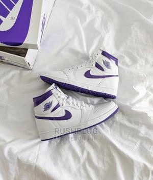 Nike Air Jordan 1 Retro High Wmns Court Purple   Shoes for sale in Lagos State, Lagos Island (Eko)