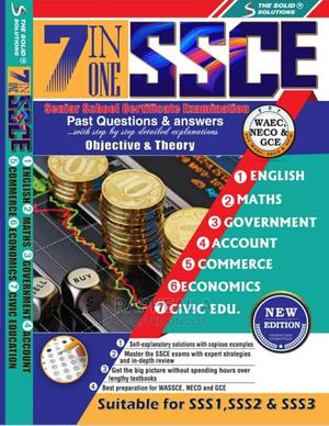 WAEC/SSCE 7 IN ONE Past Questions and Answers | Books & Games for sale in Lagos State, Isolo