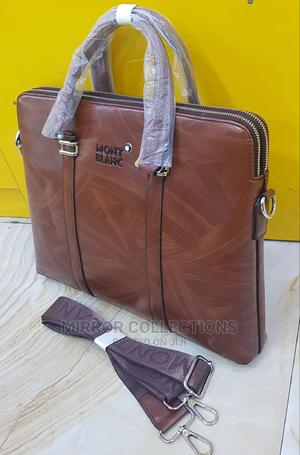 Leather Office Laptop Bag | Bags for sale in Lagos State, Victoria Island