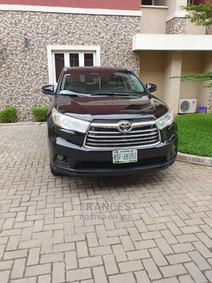 Toyota Highlander 2014 Black | Cars for sale in Lagos State, Victoria Island