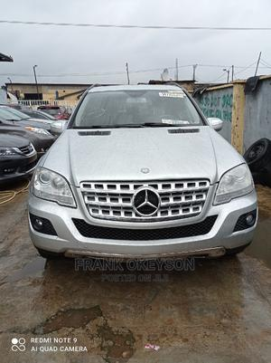 Mercedes-Benz M Class 2010 ML 350 4Matic Silver | Cars for sale in Lagos State, Alimosho
