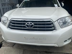 Toyota Highlander 2010 Limited White | Cars for sale in Lagos State, Surulere