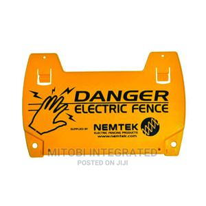 Electric Fence Warning Sign | Safetywear & Equipment for sale in Abuja (FCT) State, Wuse