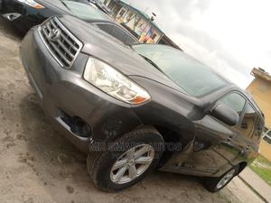 Toyota Highlander 2009 4x4 Gray | Cars for sale in Lagos State, Amuwo-Odofin