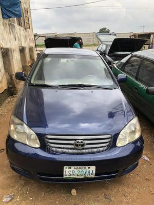 Toyota Corolla 2004 Sedan Automatic Blue | Cars for sale in Abuja (FCT) State, Karmo