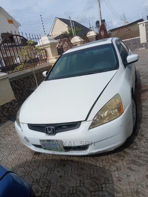 Honda Accord 2005 Sedan LX V6 Automatic White | Cars for sale in Abuja (FCT) State, Lugbe District