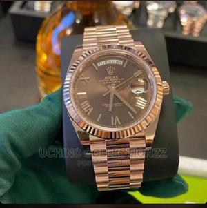 Rolex Rose Gold Chain Watch   Watches for sale in Lagos State, Lagos Island (Eko)