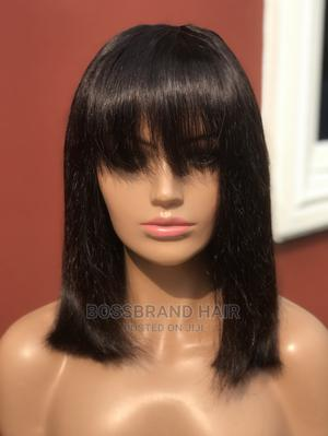Double Drawn Fringe Wig   Hair Beauty for sale in Imo State, Owerri