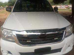 Toyota Hilux 2012 2.0 VVT-i White | Cars for sale in Abuja (FCT) State, Lokogoma