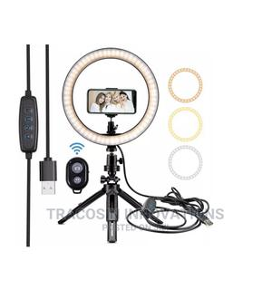 Tripod Tabletop Makeup Video Handheld Selfie BT Ring Light   Accessories & Supplies for Electronics for sale in Lagos State, Yaba