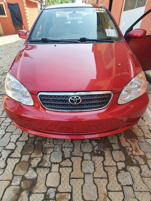 Toyota Corolla 2007 Red | Cars for sale in Abuja (FCT) State, Galadimawa