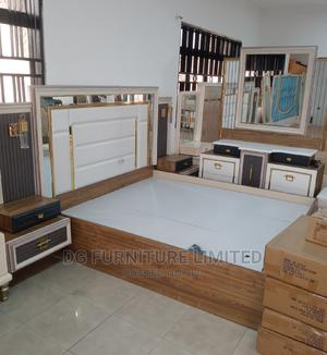 Classic and Elegant Bed With Bedside and Dresser | Furniture for sale in Lagos State, Lekki