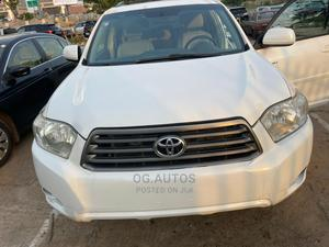 Toyota Highlander 2009 V6 White | Cars for sale in Abuja (FCT) State, Wuse 2